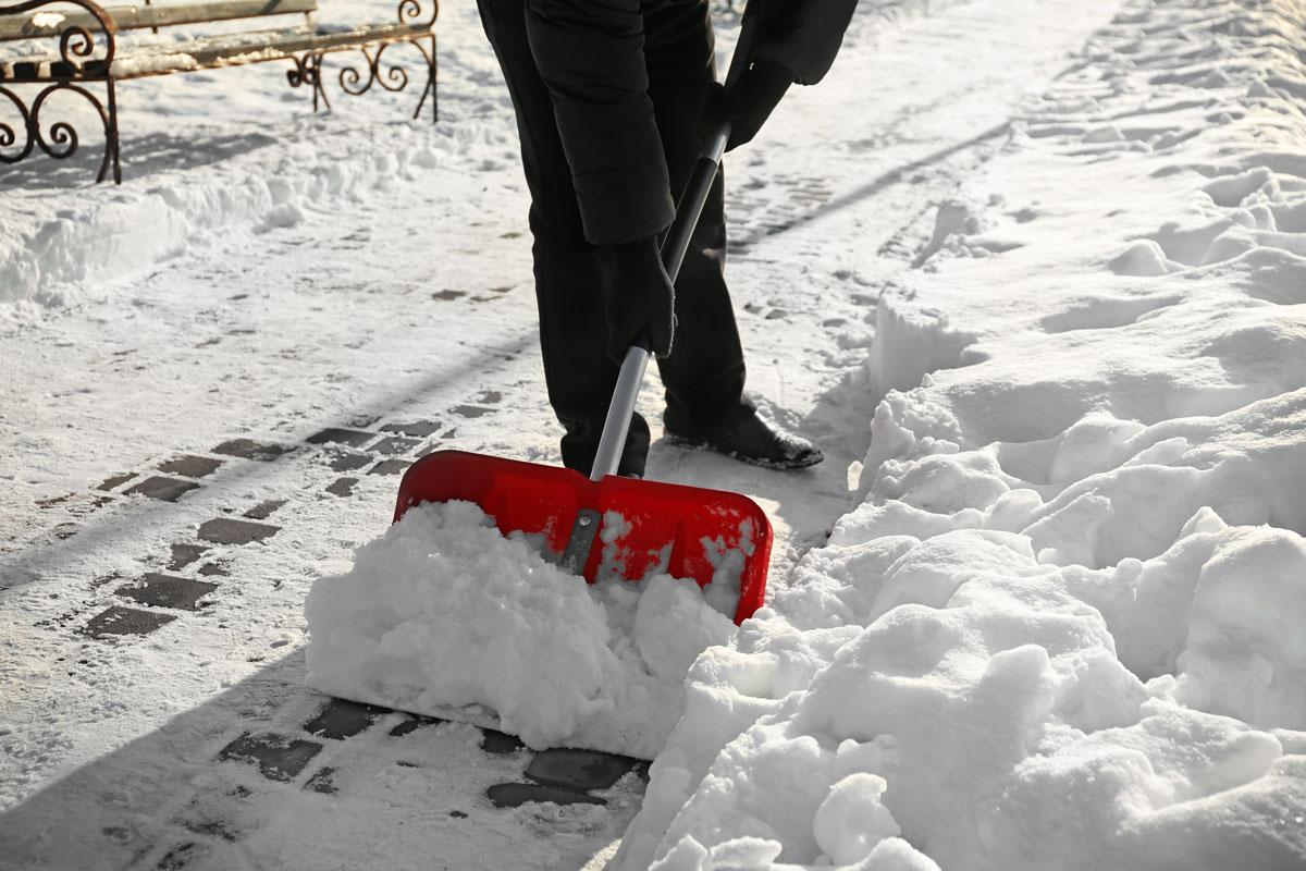 Schneedienst Kehrdienst