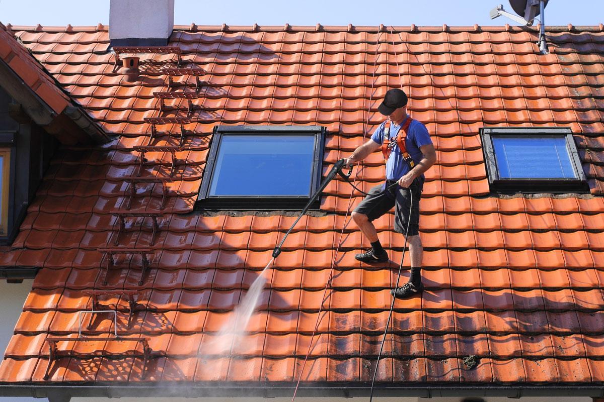 Dampfreinigung Hochdruckreinigung